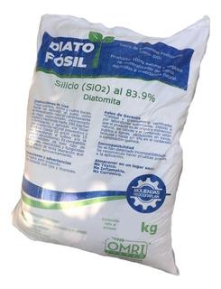 20 Kg Tierra De Diatomeas - O M R I - Orgánica - Talco Fino