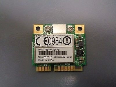Placa De Red Wifi Notebook Acer Aspire 5742