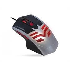Mouse Optico Gaming Prata/preto Mo-x235 Usb K-mex
