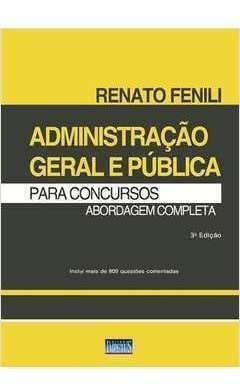 Administração Geral E Pública Para Concu Renato Fenili