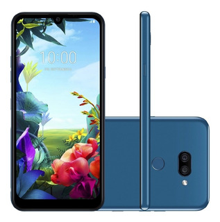 Smartphone LG K40s 32gb Dual Chip Android 9 Tela 6.1 Azul