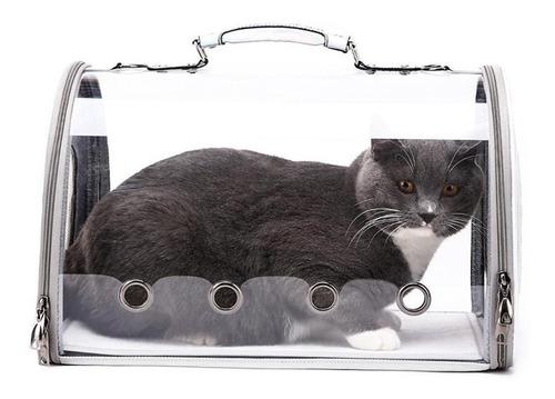 Porta Mascota Bolso Panoramico Perros Gatos 42x27x33cm P200