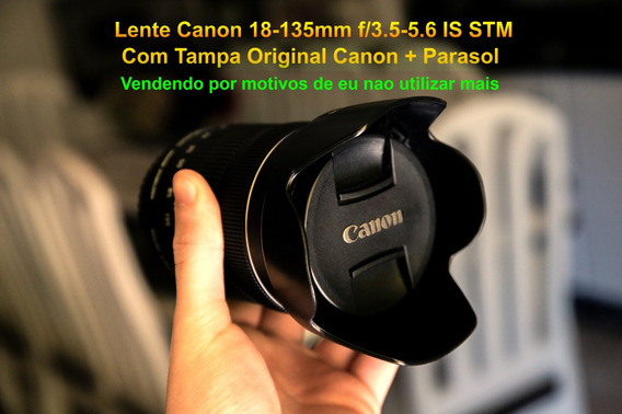 Lente 18-135mm