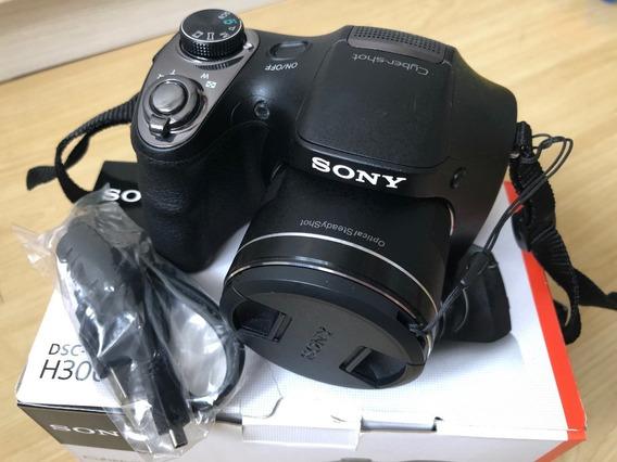Camera Digital Sony Dsc H300 Semi Nova!