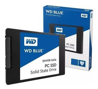 Ssd 500gb Western Digital Blue Pc Notebook - La Plata