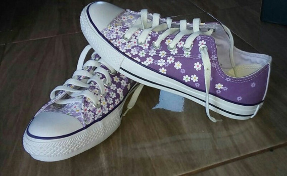 Tenis All Star Floral Original