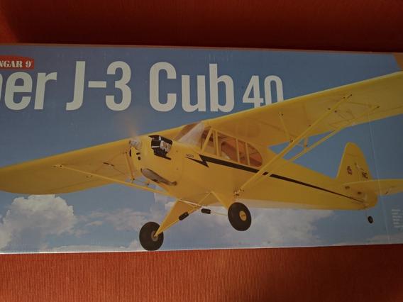Aeromodelo Piper J-3 Cub 40 Hangar 9 O Melhor Scala!