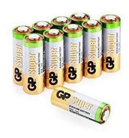 100 Pilha Bateria 23a 12v A23 Gp Controle Alarme Portão Bulk