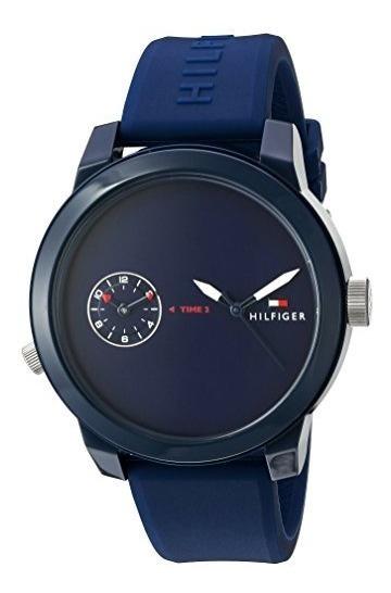 Tommy Hilfiger Denim Plástico Y Goma Reloj Automático De Cu