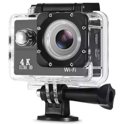 Sports Action Cam Wi-fi 4k 30fps Lcd 2.0 16mp Wide 170°