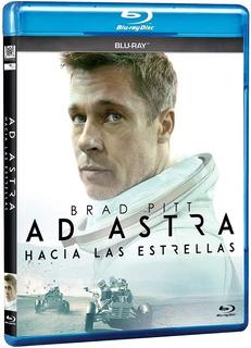 Ad Astra Hacia Las Estrellas Brad Pitt Pelicula Blu-ray