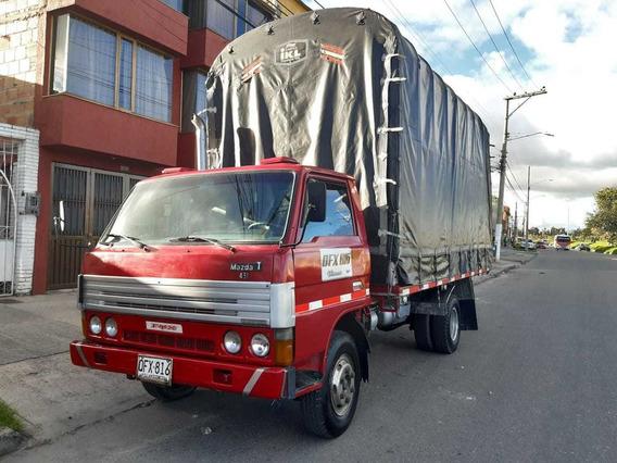 Mazda T45 1997 Diesel Estacas Pública Original Como Una Npr