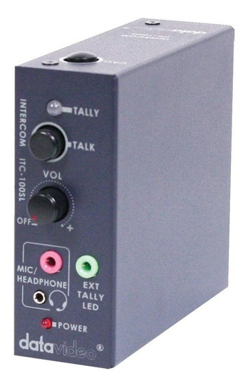 Datavideo Itc-100sl Additional Beltpack For Itc-100 Intercom