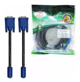 Cable Vga Macho A Vga Macho 5 Metros Con Filtros