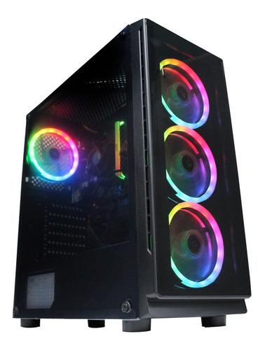 Torre Gamer Amd Ryzen 5 3400g B450m Disco 1000gb Ram 8gb W10