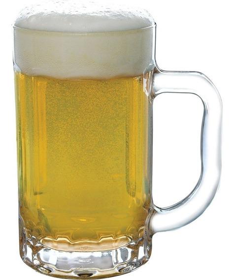 Caneca De Vidro Para Chopp Cerveja 400ml 1pç