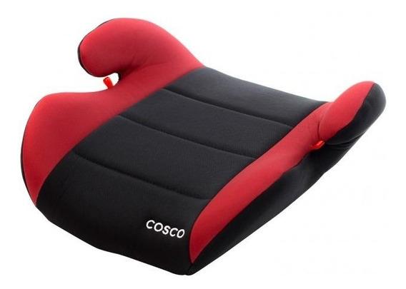 Booster De 15kg Até 36kg - Assento Preto E Vermelho - Cosco