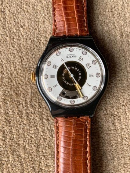Relogio Swatch ,automatico,cronografico,ano 1991, 23 Rubis