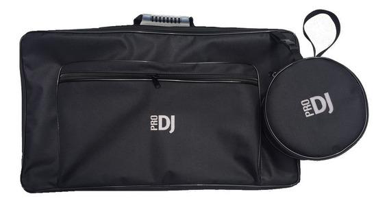 Bag Case Controladora Pioneer Ddj 400 Com Fone