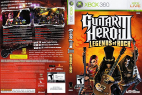 Guitar Hero Iii Legends Of Rock Xbox 360 - Destravado