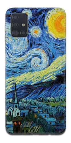 Imagen 1 de 10 de Funda Samsung A31 A21s A11 Van Gogh 10