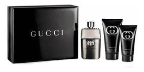 Kit Perfume Gucci Guilty Pour Homme 90 Ml Original