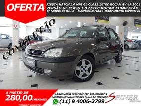 Ford Fiesta 1.0 Mpi Gl Class Zetec Rocam 8v 4p Completo