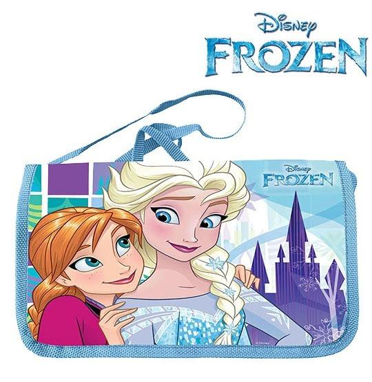 Bolsa De Vinil Infantil Retangular Frozen 24x15cm Dyh-267