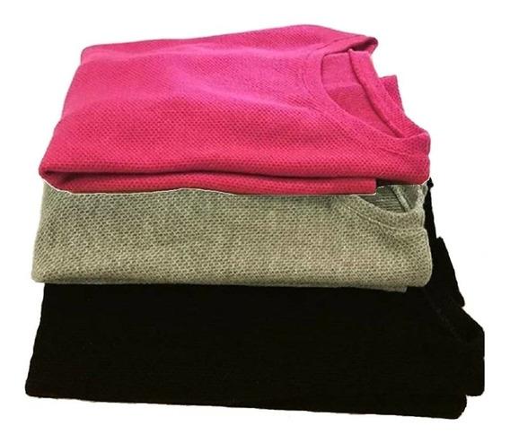 Remeras Mangas Largas Camiseta Lanilla Extra Suave Abrigadas
