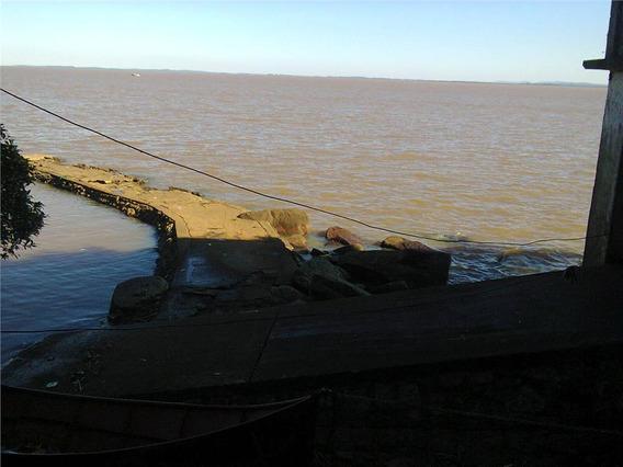 Terreno Com Praia Particular; Para Clube, Marina Ou Sede Campestre À Venda, Ponta Grossa, Porto Alegre. - Te0262