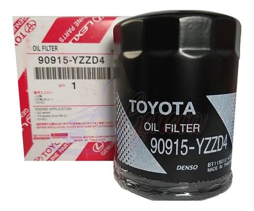 Filtro Aceite Toyota 4runner 4.0 2007 2008 2009 2010  #yzzd4