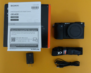 Sony Alpha A6400 24.2mp Digital Camera Body Only In Box,