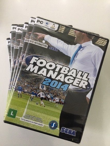 Game Pc Football Manager 2014 - Original - Novo - Lacrado