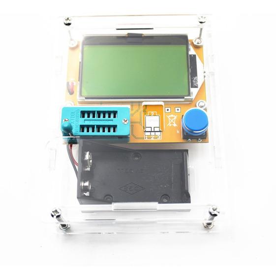 Lcr-t4 Testador Componente Eletrônico + Case + 2x Bat 9v