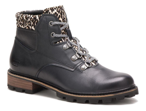 Botin Mujer Forest Park Negro Cat