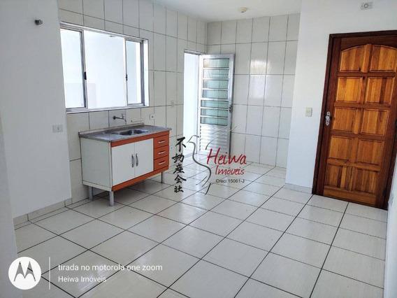 Casa Com 1 Dormitório Para Alugar, 30 M² Por R$ 1.000,00/mês - Jardim Santo Elias - São Paulo/sp - Ca1038