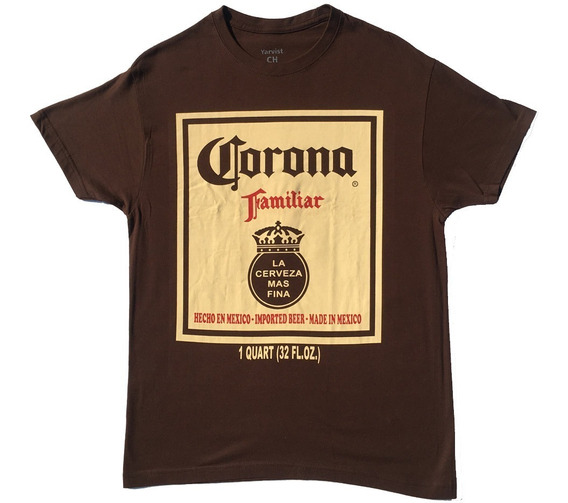 Playera Hombre Cerveza Corona Caguama