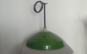 Luminária Pendente, Vintage Industrial, Esmaltada, D=51cm