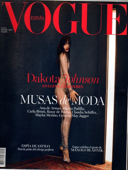 Vogue España Revista - Dakota Johnson