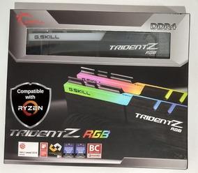 G.skill Tridentz Rgb 16gb(2x8)3600 Amd F4-3600c18d-16gtzrx