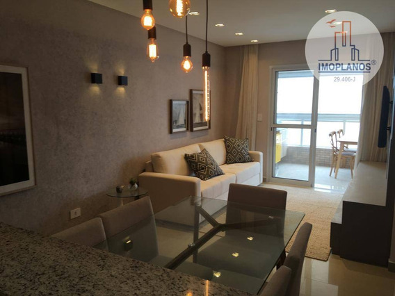 Apartamento Com 2 Dormitórios À Venda, 99 M² Por R$ 669.900 - Aviação - Praia Grande/sp - Ap11510