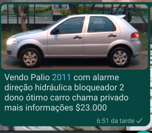Imagem 1 de 8 de Fiat Palio 2011 1.0 Elx Flex 5p
