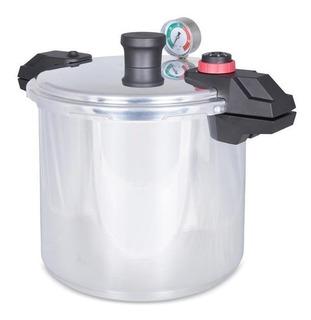 Olla De Presión 22 Litros T-fal Aluminio Válvula De Seguridad Tefal