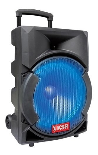 Bafle Recargable 12 Bocina Kaiser 13600w Bluetooth Portatil