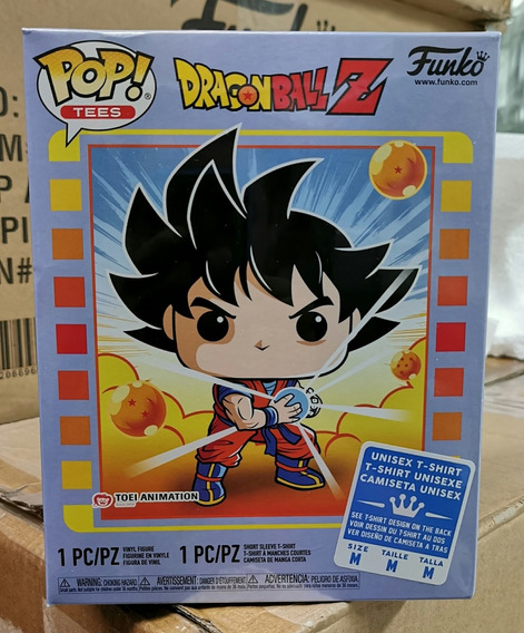 Funko Pop Goku Kamehameha Playera M Unisex Gamestop