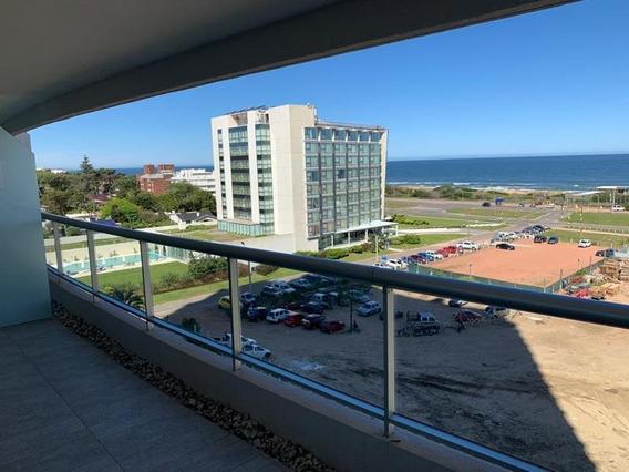 Excelente Esquinero Con Vista Al Atlántico, Barra Y Bosque