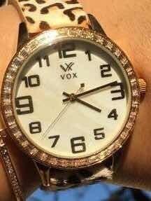 Relógio Vox Feminino Beverly Hills Animal Print