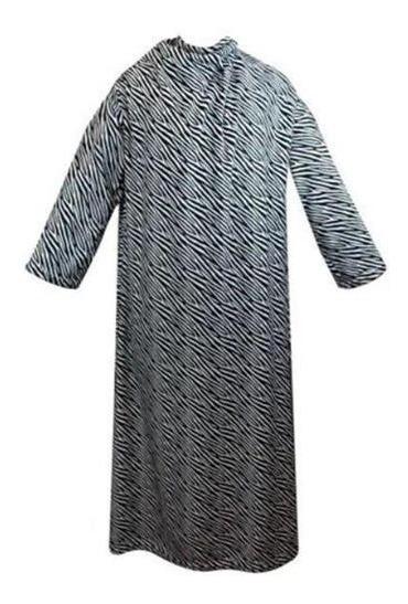 Cobertor Com Mangas Zebra Boca Preta 1,60 M X 1,30 M