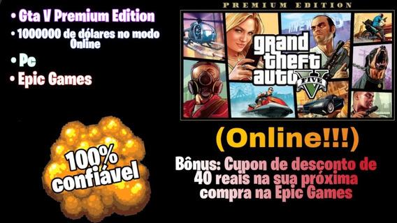 Gta 5 - Premium Edition (pc) (epic Games) Online!!!