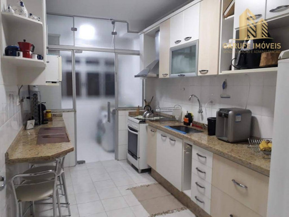 Apartamento Com 3 Dormitórios À Venda, 87 M² Por R$ 465.000,00 - Floradas De São José - São José Dos Campos/sp - Ap1402